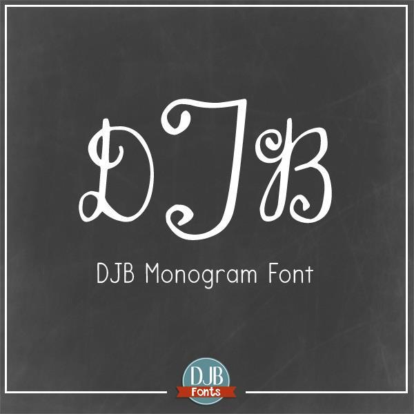 Image for DJB Monogram font