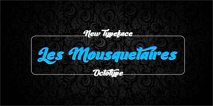 Image for Les Mousquetaires font