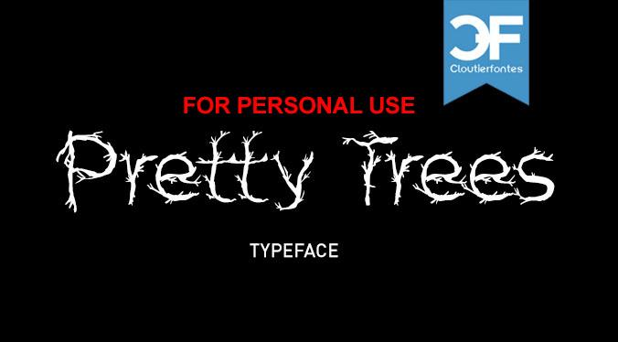 Image for CF Pretty Trees font