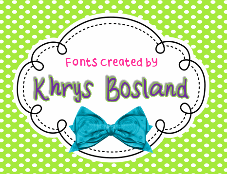 KBRoundUp font by KhrysKreations