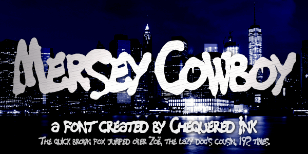 Image for Mersey Cowboy font