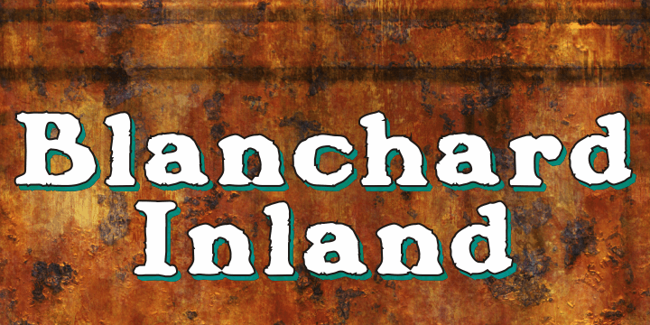 Image for Blanchard Inland font