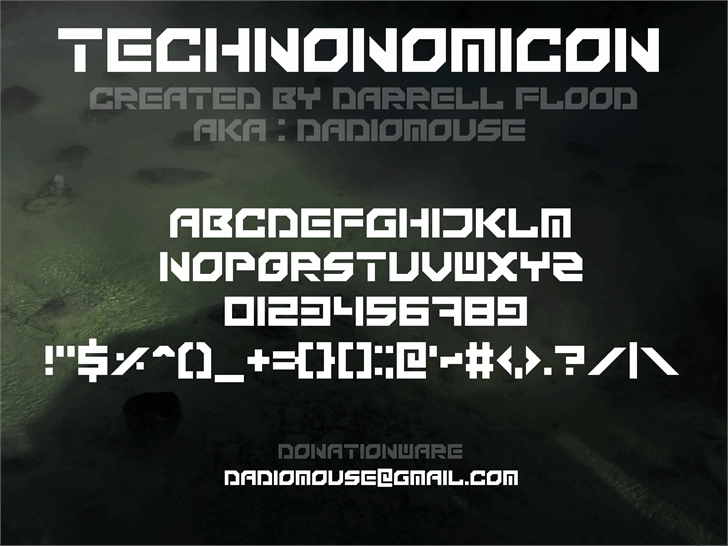 Image for Technonomicon font