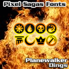 Image for Planewalker Dings font