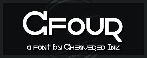 Image for Cfour font
