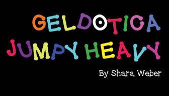 Image for GelDoticaJumpyHeavy font