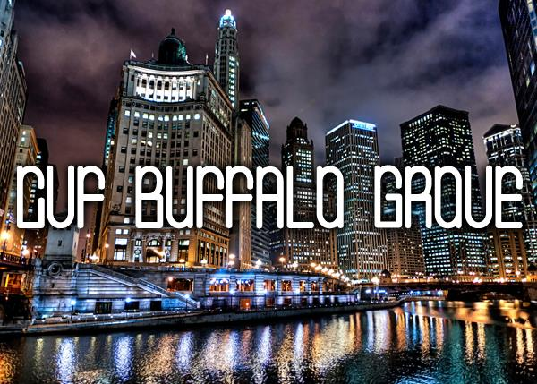 CVF Buffalo Grove font by Chris Vile
