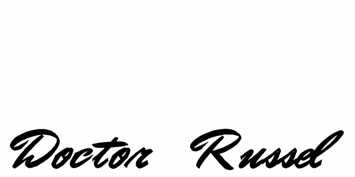 Image for Doctor Russel font