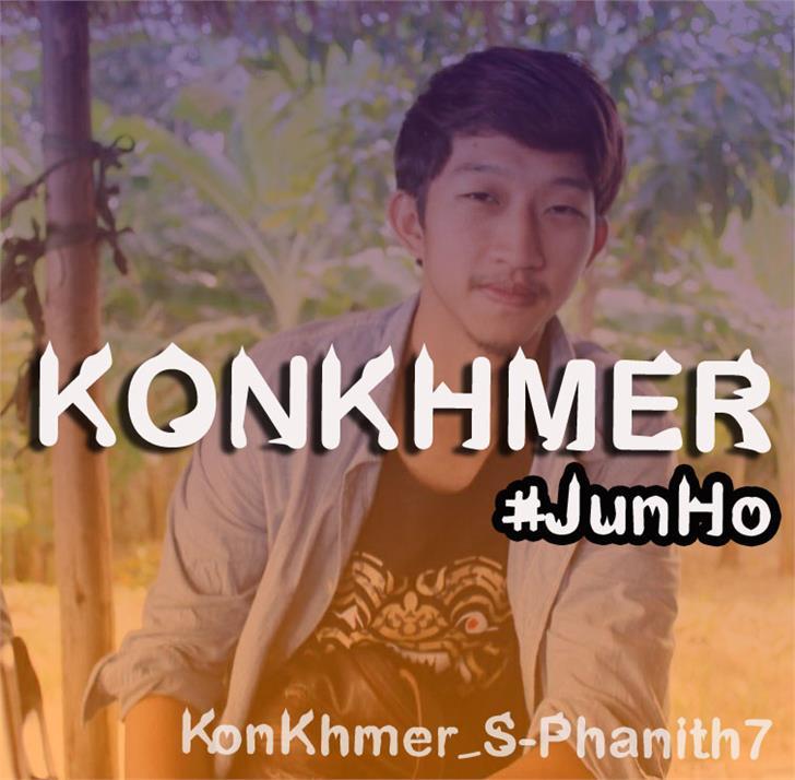 Image for KonKhmer_S-Phanith7 font