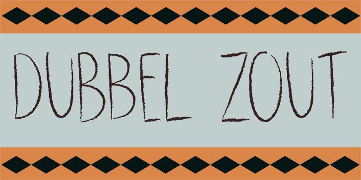 Image for DK Dubbel Zout font