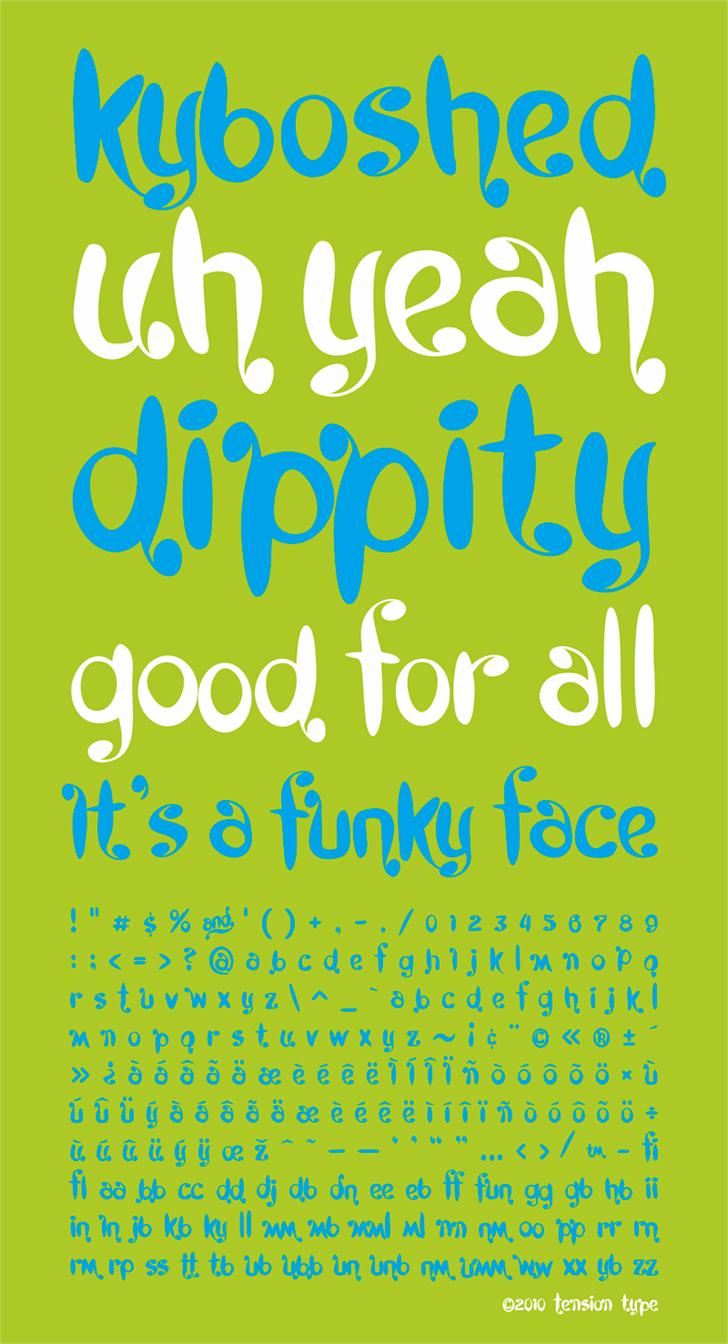 Image for Kyboshed font