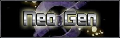Neo Gen font by Pixel Sagas