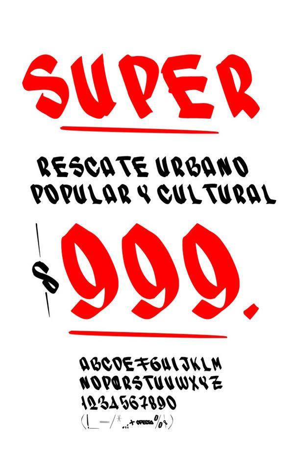 Image for SUPER font