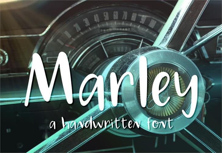 Marley font by GroovyJournal