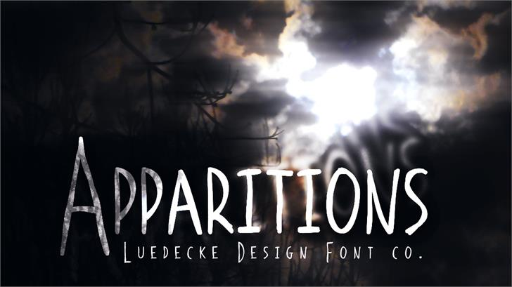 Image for Apparitions font