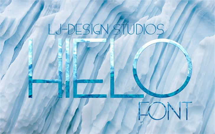 Image for HIELO font