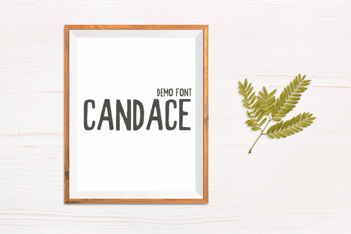 Candace Demo font by Creativetacos