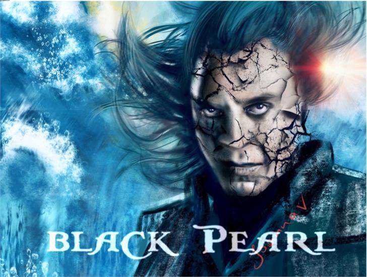 Image for BlackPearl font