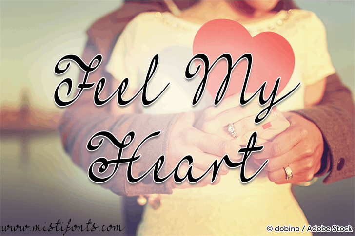 Image for Mf Feel My Heart font