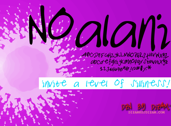 Image for NOALANI font