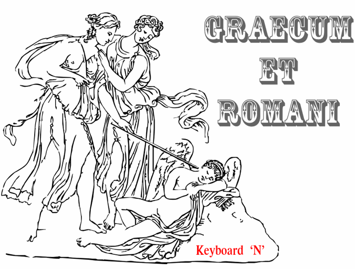 Image for Graecum et Romani font