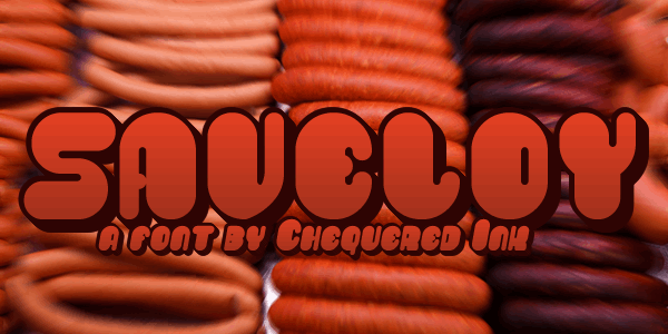 Image for Saveloy font