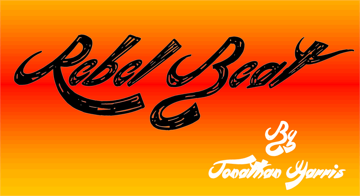 Image for Rebel Beat font
