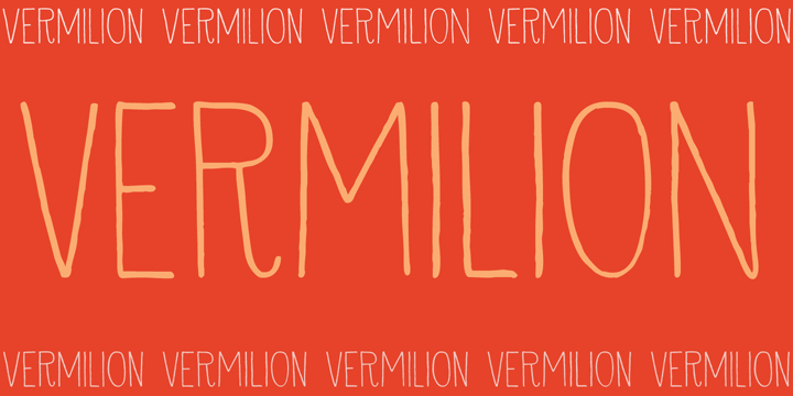 Image for DK Vermilion font