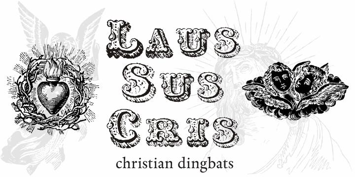 Image for Laus Sus Cris font