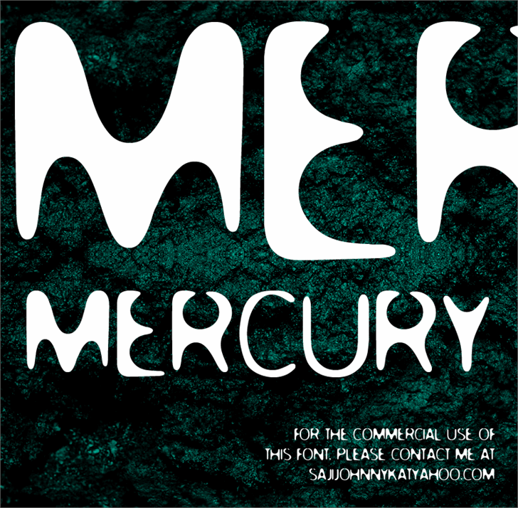 Image for MERCURY font