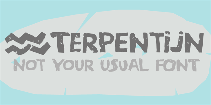 Image for DK Terpentijn font