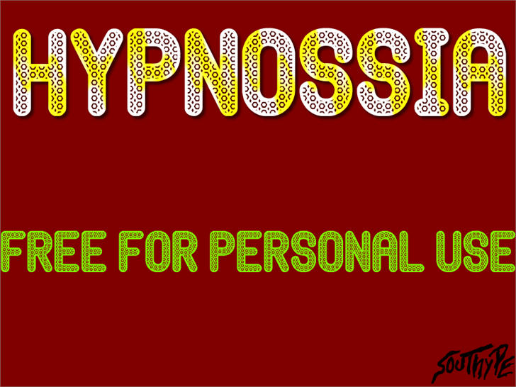 Hypnossia St font by Southype