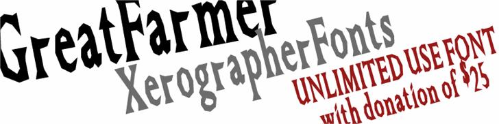 Image for GreatFarmer font