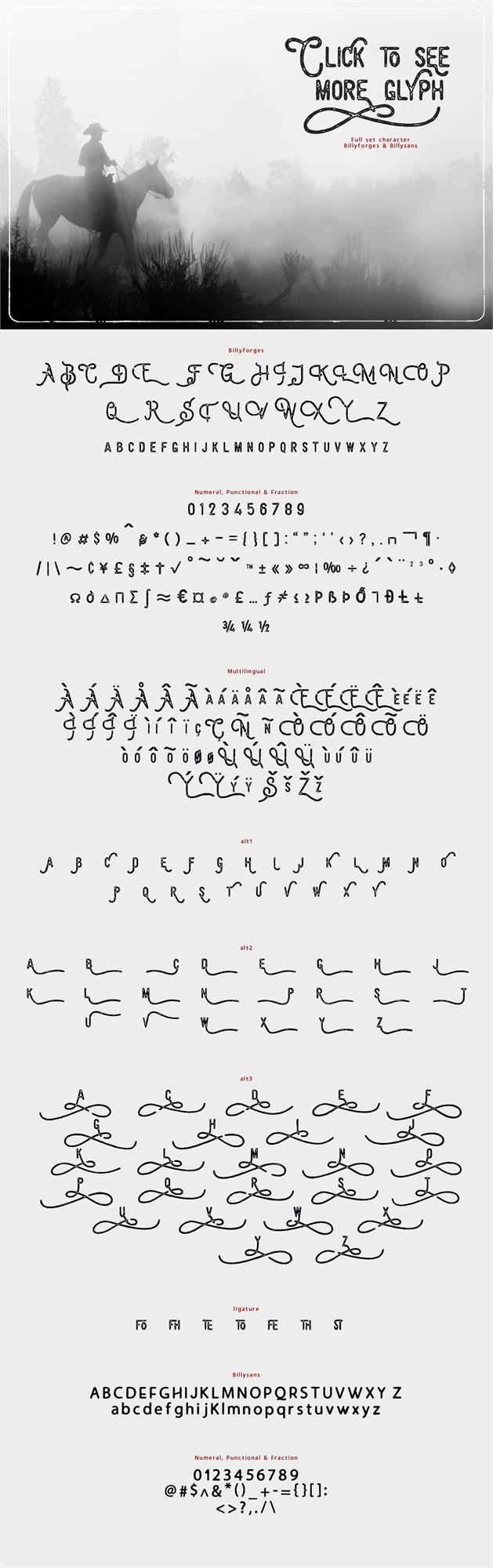 Billyforges Demo font by burntilldead