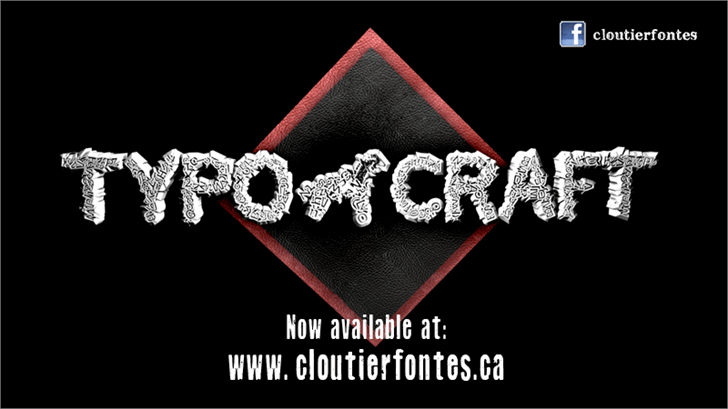 Image for CF TypoCraft font