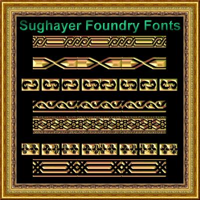 Image for Vintage Borders_022 font