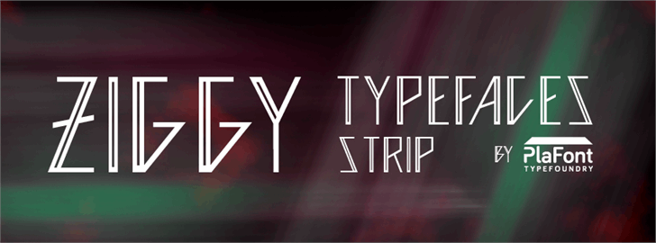 Image for Ziggy  font
