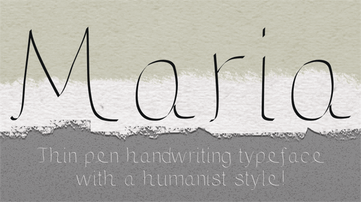 Image for Maria font