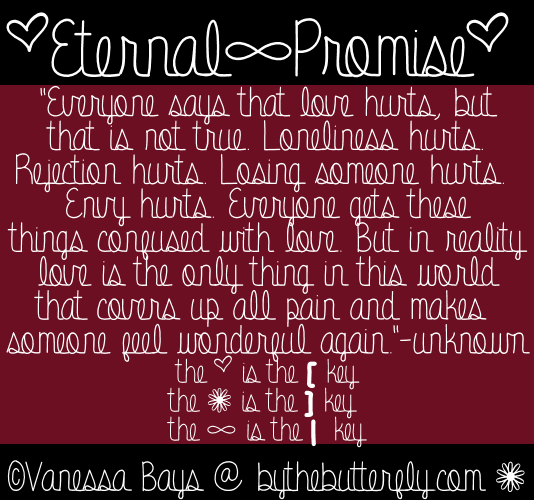 Image for Eternal Promise font