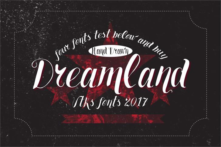 Image for Vtks Dreamland555 font