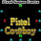 Image for Pixel Cowboy font