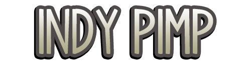 Indy Pimp font by Press Gang Studios