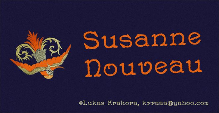 Image for Susanne Nouveau font
