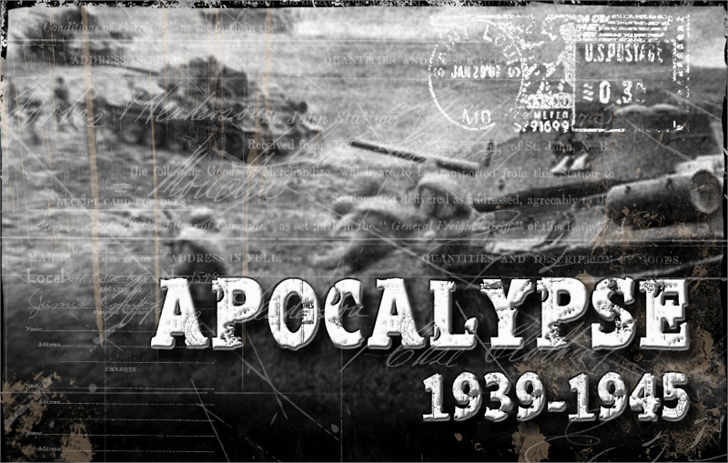 Apocalypse Regular font by CloutierFontes