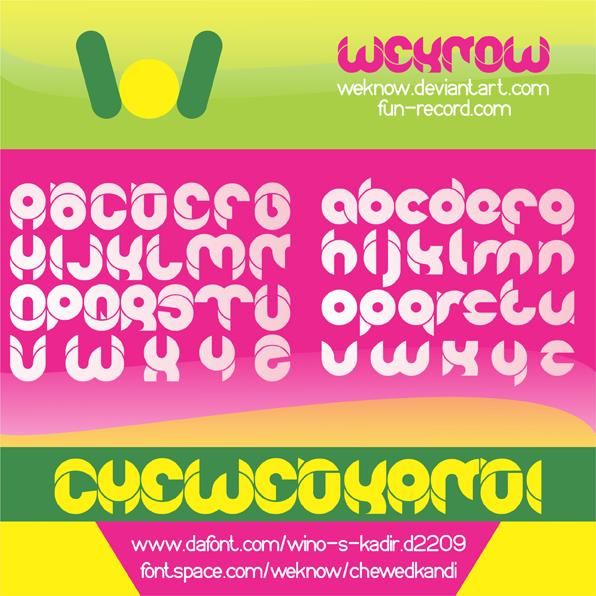 Image for chewedkandi font