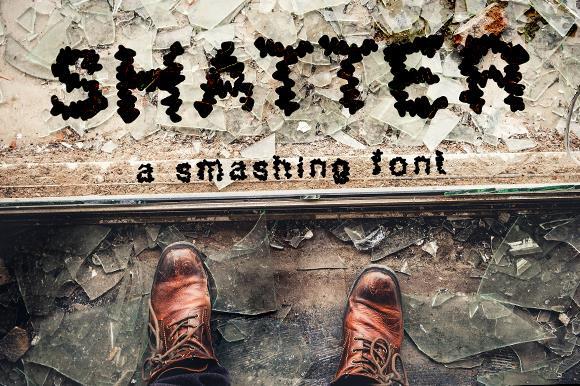 Image for Shatter_demo font