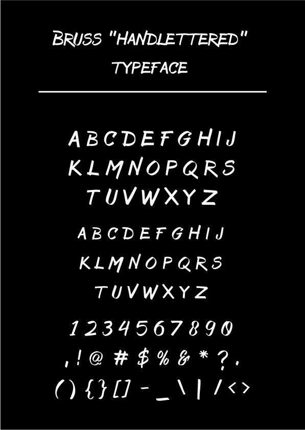 Image for Bruss font