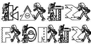 Image for KG FUNKYGIRL font