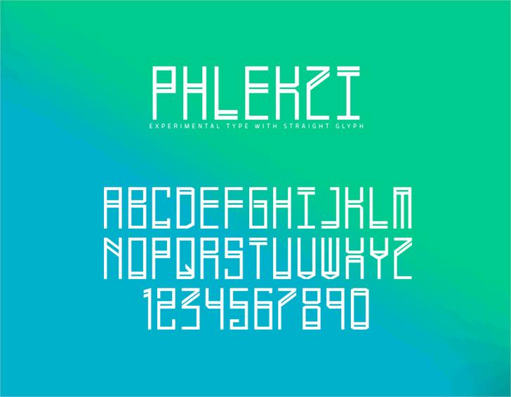 Phlekzi font by Phenom