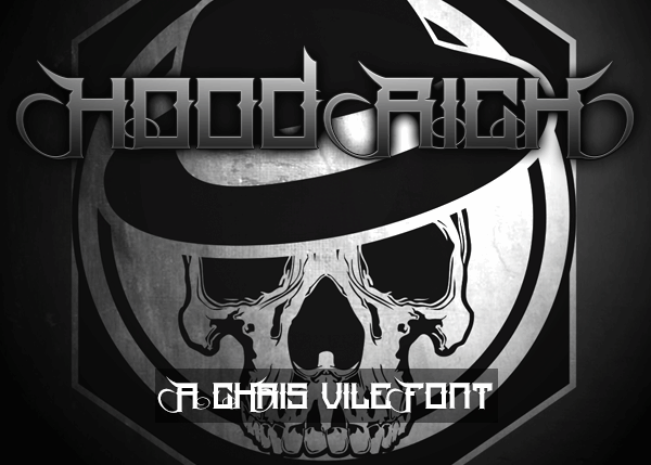 Image for Hood Rich font